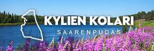 Kuva väylästä, kuvattuna Saarenputaan rannasta.