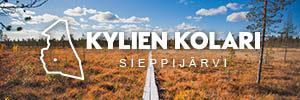 Sieppijärven Laestadiouspolun pitkospuut maaruskassa