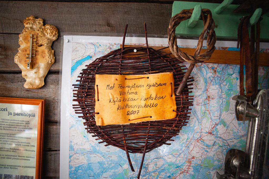 Teurajärven kyläseuran palkinto Kurtakon kulttuuriviikolta 2009